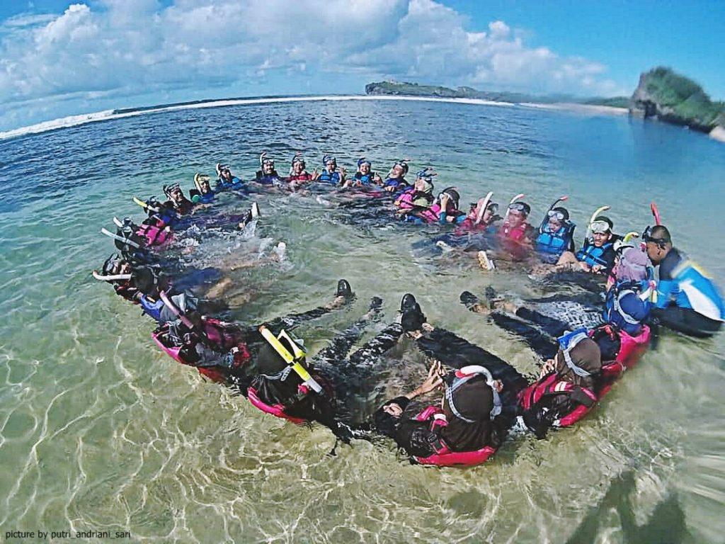 Pantai Sadranan Yogyakarta -